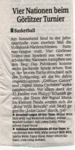 06.09.2011 Sächsische Zeitung