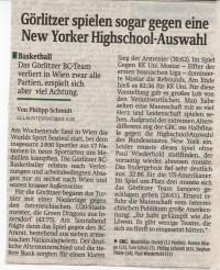 24.07.2008 Sächsische Zeitung