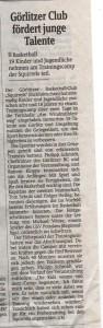 27.07.2012 Sächsische Zeitung