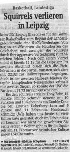 31.01.2017 Sächsische Zeitung