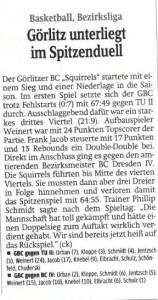 07.10.2014 Sächsische Zeitung