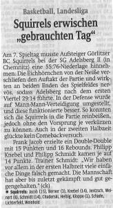 15.12.2015 Sächsische Zeitung