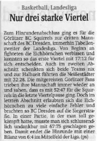 29.01.2016 Sächsische Zeitung