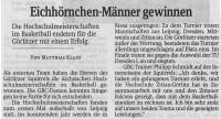 01.06.2016 Sächsische Zeitung