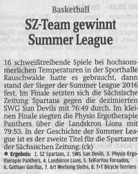 02.09.2016 Sächsische Zeitung