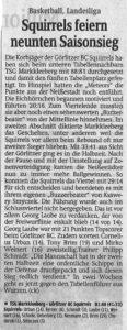 28.02.2017 Sächsische Zeitung