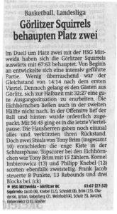 17.04.2018 Sächsische Zeitung